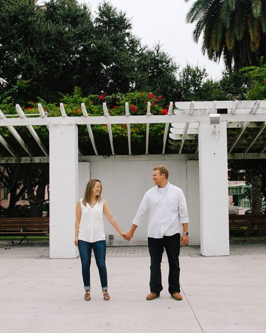 Downtown St.Petersburg Engagement, Charlotte and Lucas