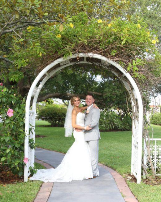 Davis Island Garden Club Wedding , Samantha + Andrew