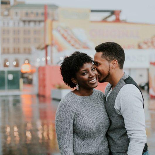 Coney Island Couples Session, Tasha + Joel