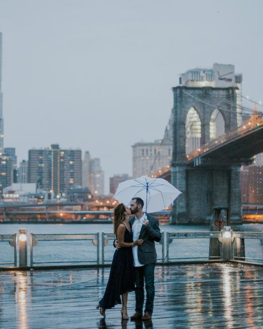 Brooklyn Bridge Park Engagement Pictures Krystyna + Chris