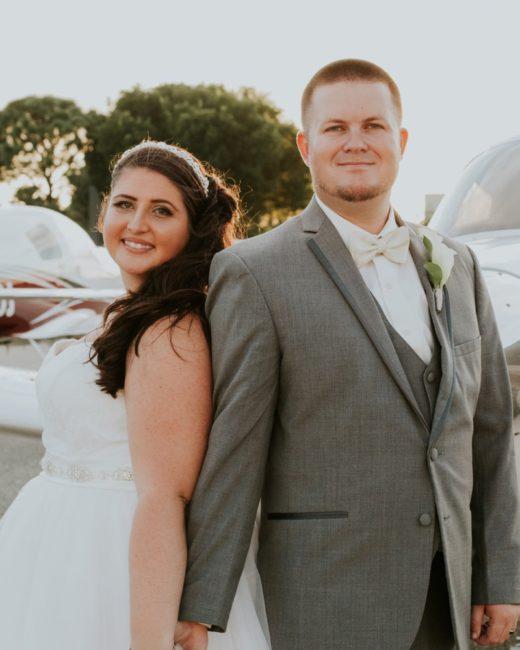 Edison Garden Wedding , Melissa + Chris