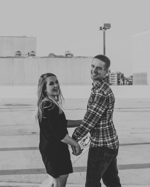 Downtown Tampa Engagement Photos , Caitlin + Josh