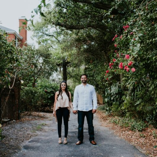 Hyde Park Village Engagement , Andrea + Sam