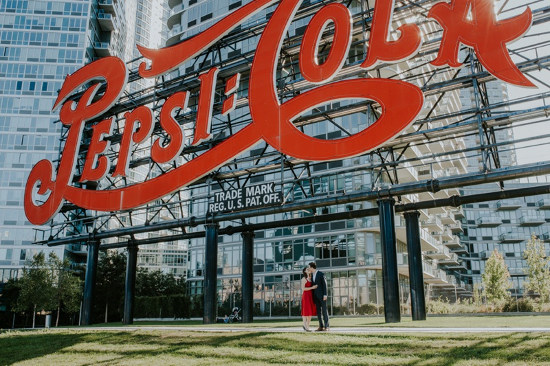 Long Island City Engagement Photos, New York City Engagement Photos, Central Park Engagement Photos, Harlem Meer Engagement Photos, New York Wedding Photographer, Ashley Izquierdo