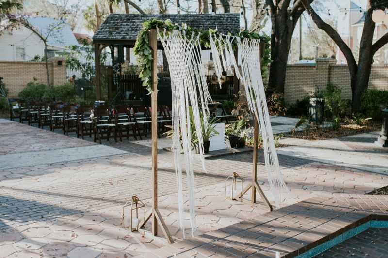 Ybor City Museum Garden Wedding Photos