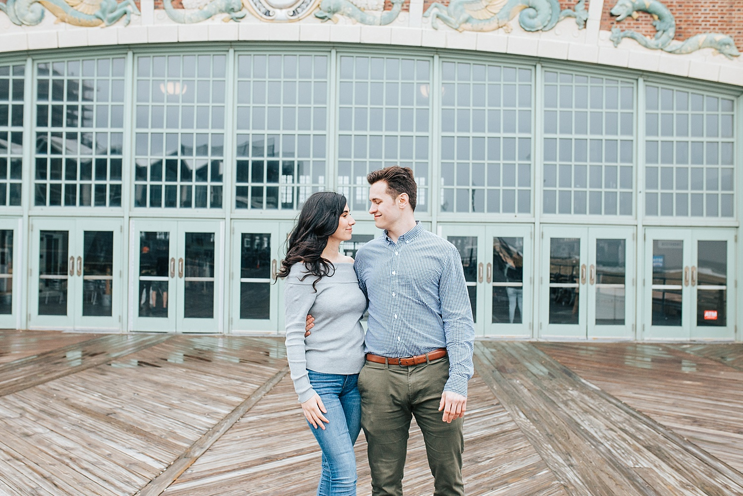 asbury park engagement photos, asbury park engagement pictures, asbury park boardwalk engagement photos, asbury park boardwalk engagement pictures, asbury park photographers, new jersey wedding photographers, New York wedding photographers, boardwalk engagement photos, new jersey engagement photo ideas, asbury park engagement, ashley izquierdo