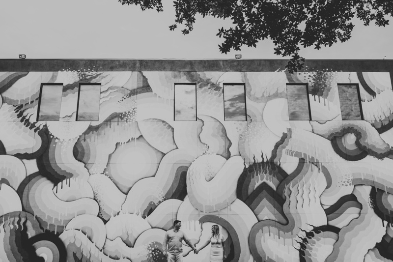 st pete engagement pictures, st pete engagement photos, downtown st pete engagement pictures, DTSP, DTSP engagement pictures, the 600 block of St petersburg engagement pictures, shine mural festival, tampa wedding photographers, tampa wedding photographer, florida photographer, ashley izquierdo