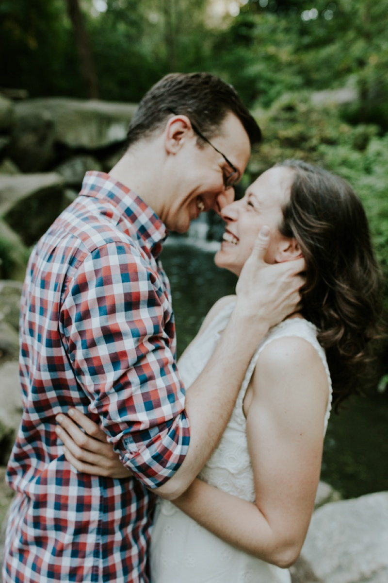 Long Island City Engagement Photos, New York City Engagement Photos, Central Park Engagement Photos, Harlem Meer Engagement Photos, New York Wedding Photographer, Ashley Izquierdo