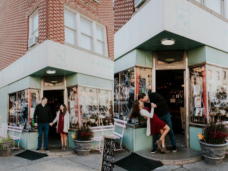 Brooklyn Farmacy Engagement Photos, Brooklyn Farmacy Couples Photos, Brooklyn Farmacy Engagement Session, Brooklyn Farmacy, Brooklyn Engagement Photos, Ashley Izquierdo, Brooklyn Wedding Photographers, Tampa Wedding Photographers, New York Wedding Photographers
