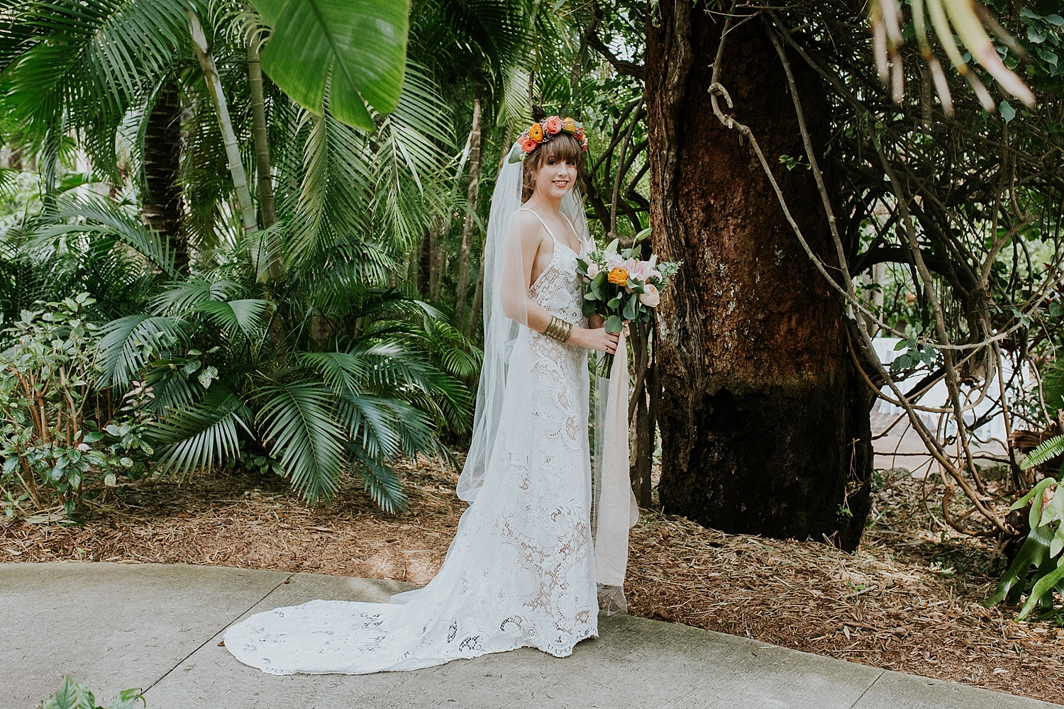 Sunken Garden Wedding Photos, Sunken Garden Weddings, Sunken Gardens Wedding Photographers, Tampa Wedding Photographers, Ashley Izquierdo, Sunken Garden Wedding Pictures, Wedding Pics at Sunken Gardens, St Pete Wedding Photographers, St Pete Wedding Venues, Garden Wedding Venues, Florida Garden Wedding Venues, Boho Wedding Photos, Boho Wedding Inspiration, Sunken Gardens, St Petersburg Wedding Photographers, St Petersburg Wedding Photos, Boho Brides, Florist Fire, Florida Wedding Photographers