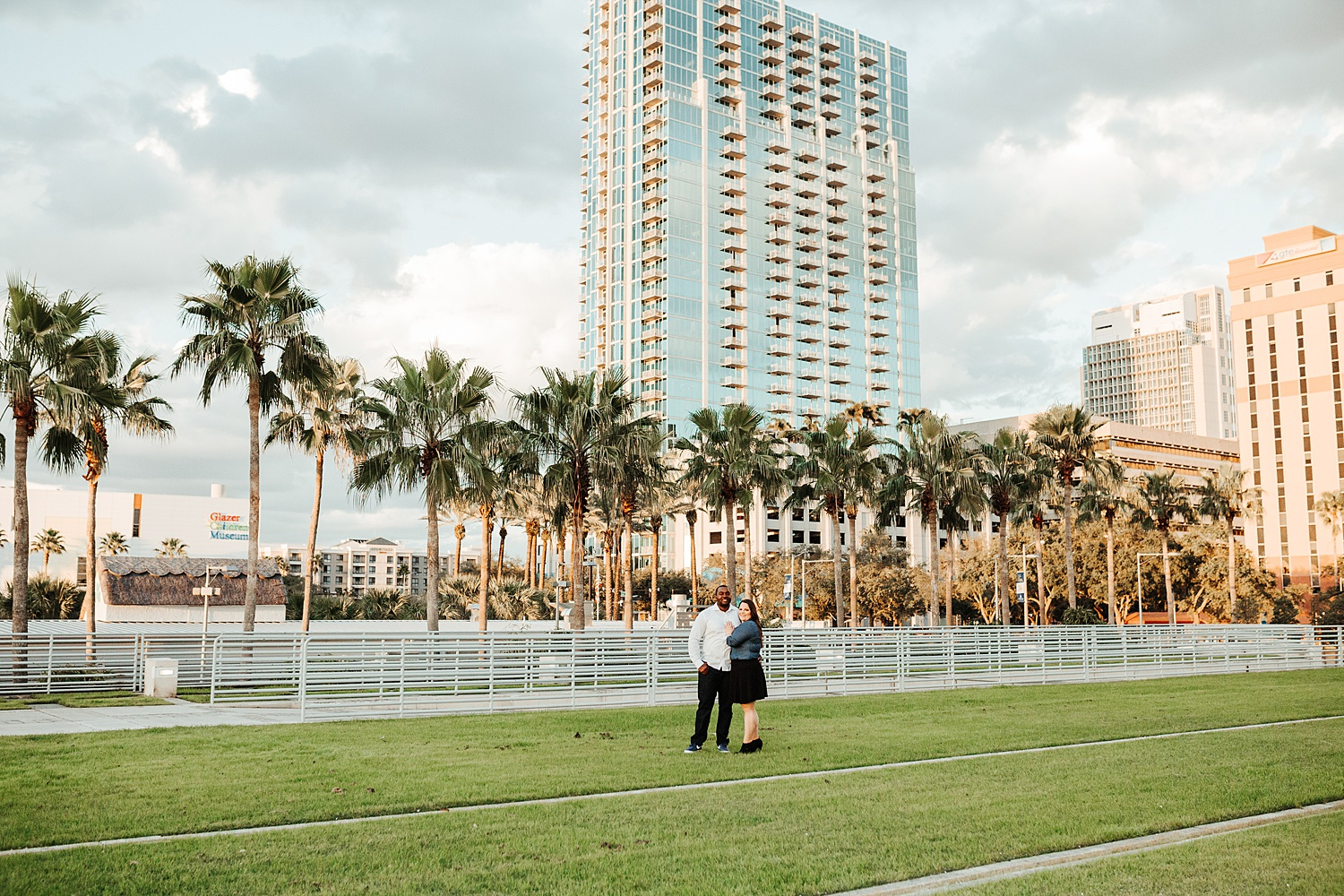 Downtown Tampa Engagement Photos, Downtown Tampa Engagement Photo Ideas, Tampa Wedding Photographers, Ashley Izquierdo, Tampa Engagement Session Ideas, Tampa Engagement Ideas