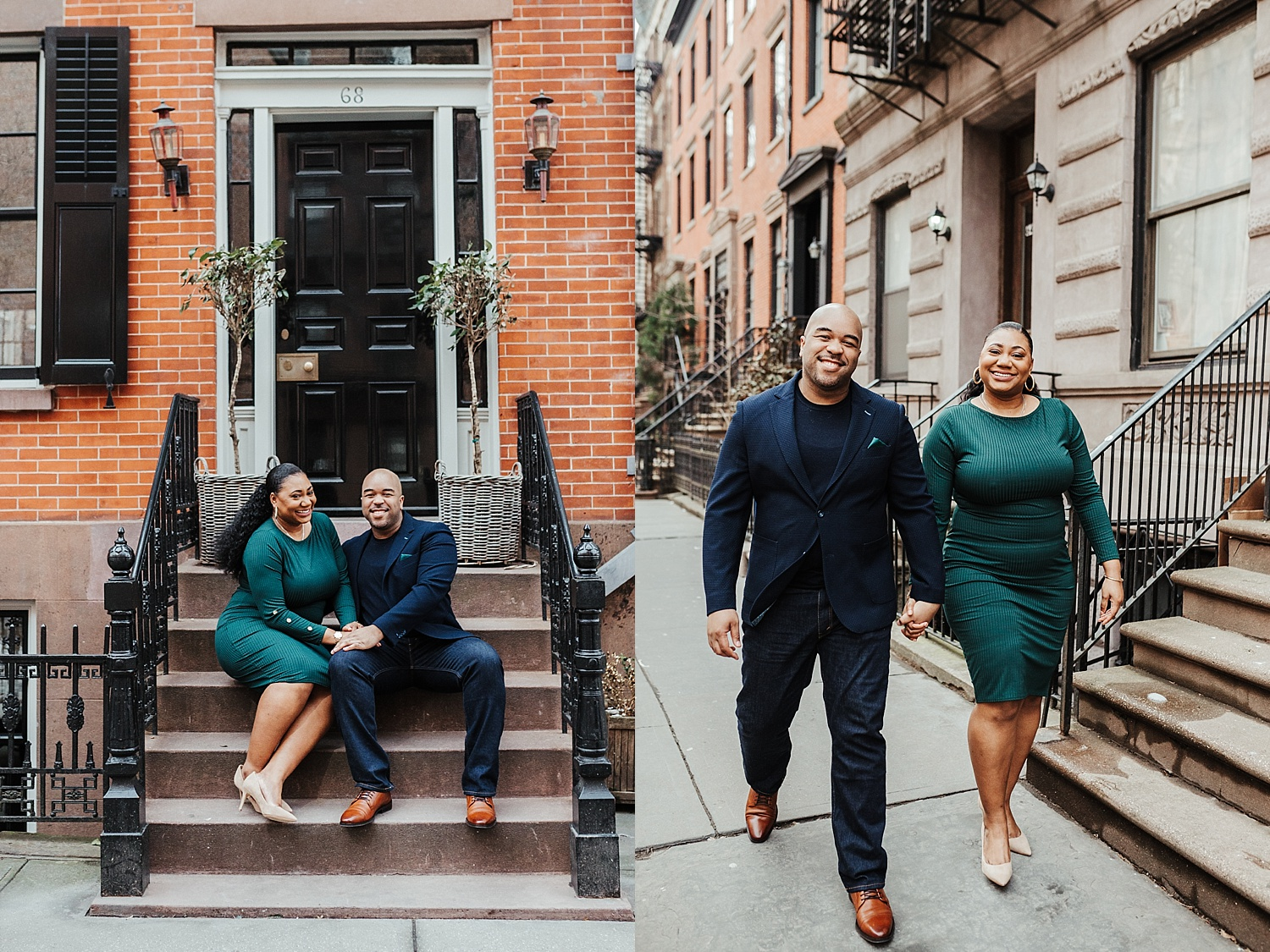 West Village Engagement Session, West Village Engagement Photos, West Village Engagement Photo Ideas, Tampa Wedding Photographers, Ashley Izquierdo