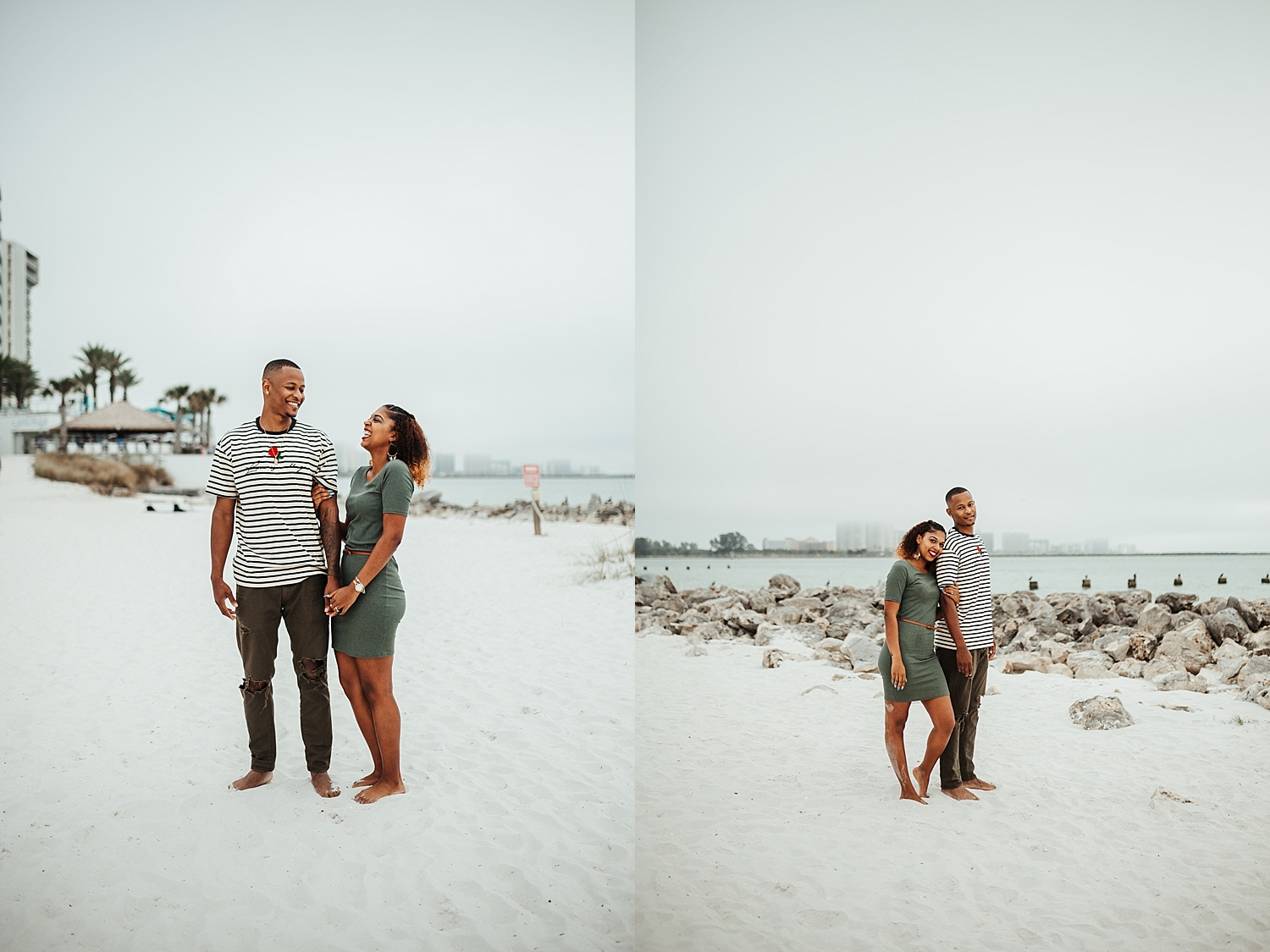 Clearwater Beach Couples Session, Clearwater Beach Engagement Photos, Clearwater Beach Engagement Photo Ideas, Ashley Izquierdo, Clearwater Beach, Tampa Wedding Photographers, Tampa Wedding Photographer, Tampa Engagement Photos, Tampa Photographer, Best Tampa Photographers