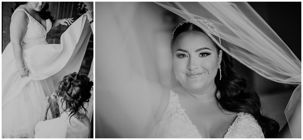 Seasons Catering Wedding, Seasons Catering Wedding Photos, Seasons Catering, New York Wedding Photographer, Ashley Izquierdo, Jimmy Choo Wedding shoes, bride getting ready, bridal portraits