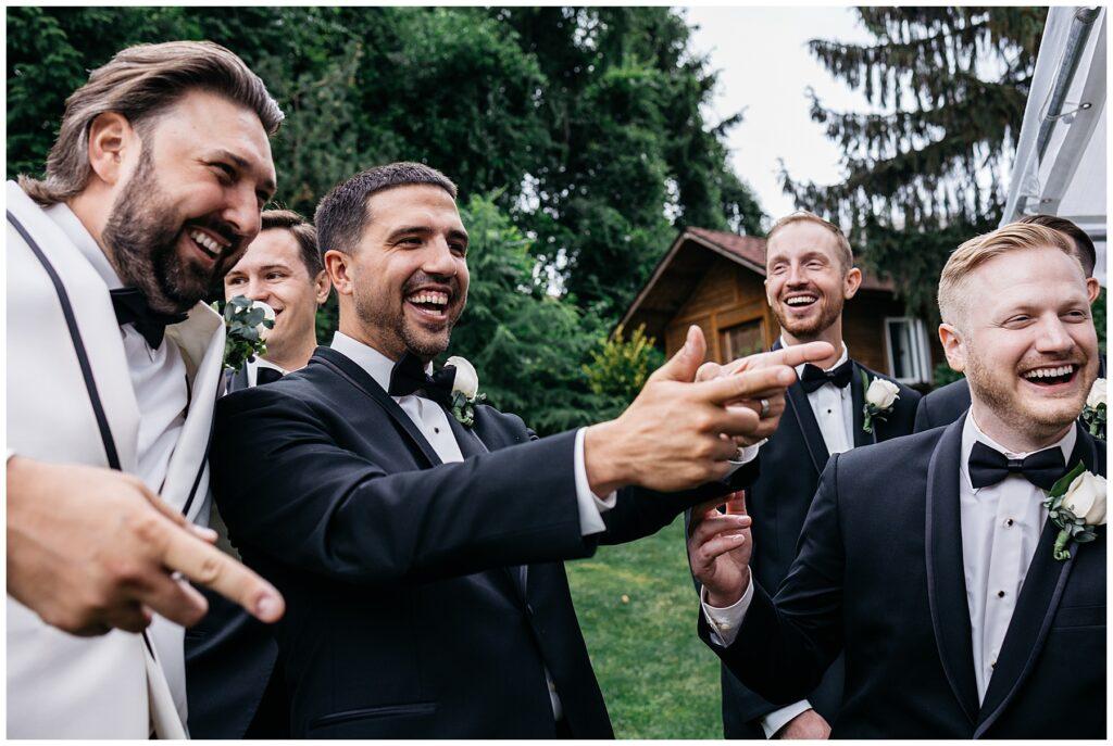 Seasons Catering Wedding, Seasons Catering Wedding Photos, Seasons Catering, New York Wedding Photographer, Ashley Izquierdo, Wedding day photos, fun wedding party photos, wedding party formals