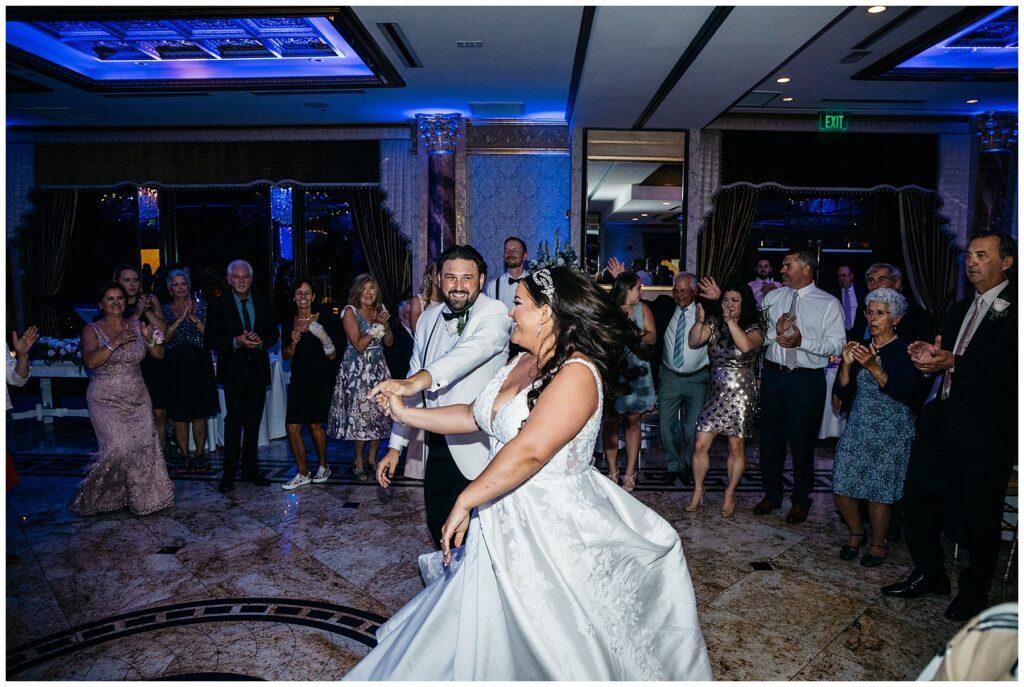Seasons Catering Wedding, Seasons Catering Wedding Photos, Seasons Catering, New York Wedding Photographer, Ashley Izquierdo, First look , Reception Photos, Wedding Dance